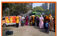 daily langars food distribution camp