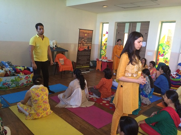 Sanatan Kriya workshop DPS gurgaon for teachers