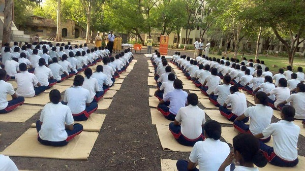Sanatan Kriya workshop at Police Academy, Nazafgarh