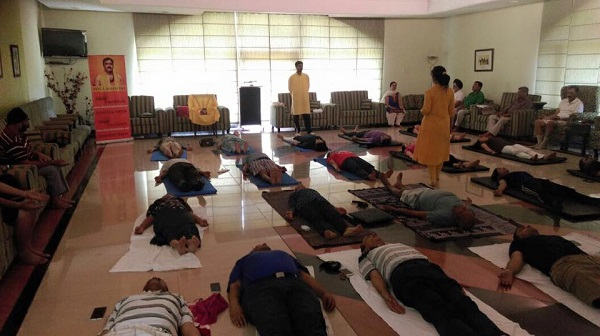 Sanatan Kriya workshop at Mother's pride, Dehradun