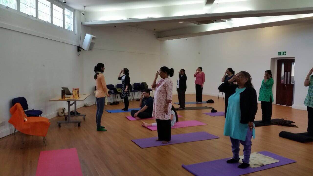 Sanatan Kriya workshop at UK, London
