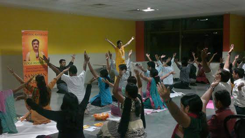 self healing workshop sanatan kriya wipro hyderabad